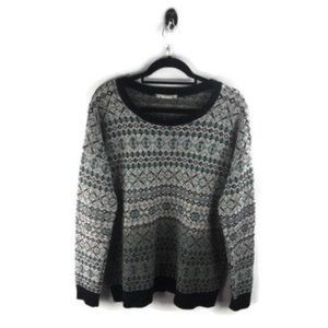 Anthro Coincidence & Chance Knitted Sweater Size L